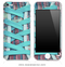 Blue Laced Shoe iPhone Skin