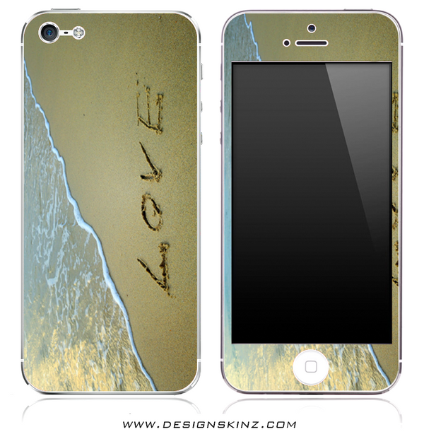 Beach Love iPhone Skin