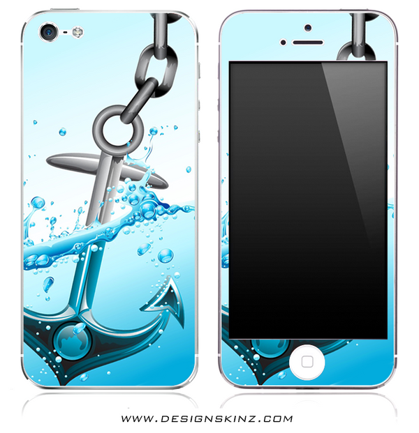 Anchor Splash iPhone Skin