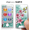 Watercolor Flower iPod Nano Skin