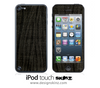 Black Denim iPod Touch 4th or 5th Generation Skin