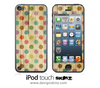 Vintage Dotted iPod Touch 4th or 5th Generation Skin