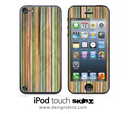 Vintage Striped iPod Touch 4th or 5th Generation Skin