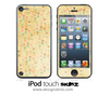 Golden Vintage iPod Touch 4th or 5th Generation Skin