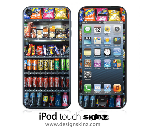 Vending Machine iPod Touch 4th or 5th Generation Skin