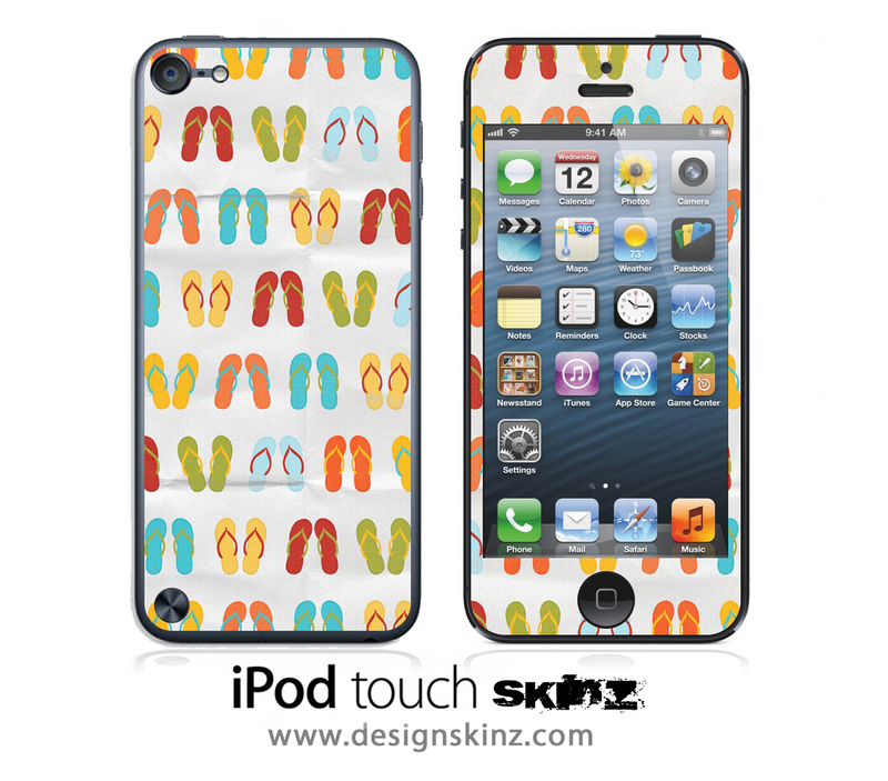Flip Flops iPod Touch 4th or 5th Generation Skin