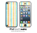 Grungy Striped iPod Touch 4th or 5th Generation Skin