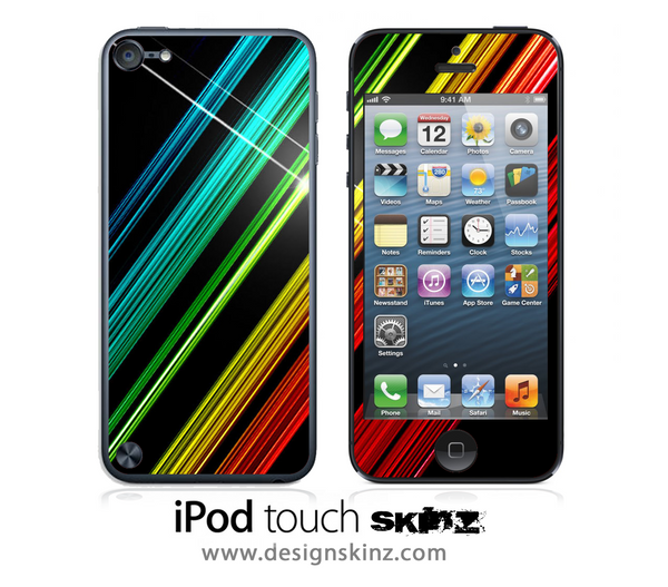 Bright Shine iPod Touch 4th or 5th Generation Skin