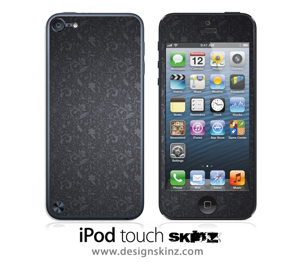 Black Laced iPod Touch 4th or 5th Generation Skin