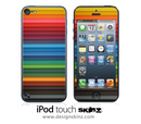 More Bright Stripes iPod Touch 4th or 5th Generation Skin