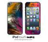 Colorful Feather Ends iPod Touch 4th or 5th Generation Skin