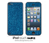 Blue Glitter iPod Touch 4th or 5th Generation Skin