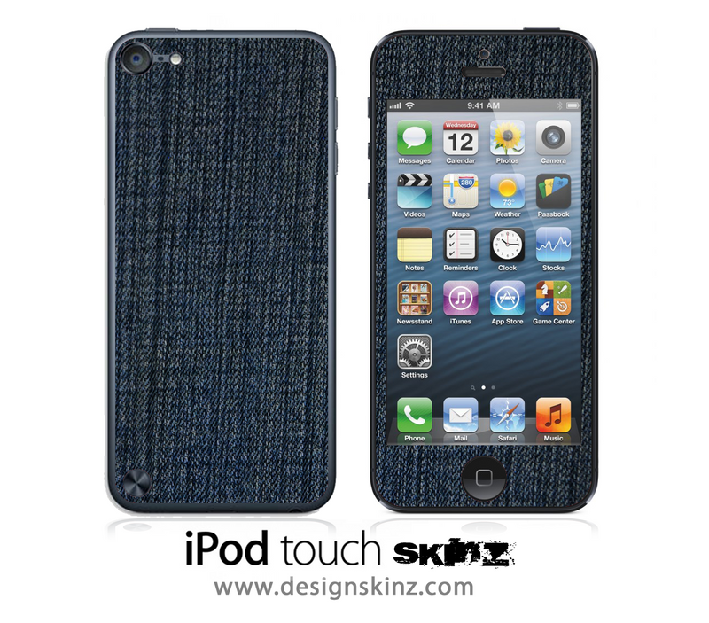 Denim iPod Touch 4th or 5th Generation Skin