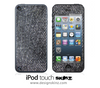 Grey Denim iPod Touch 4th or 5th Generation Skin