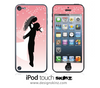 Bridal iPod Touch 4th or 5th Generation Skin