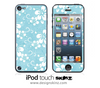 Hawaiian Floral iPod Touch 4th or 5th Generation Skin