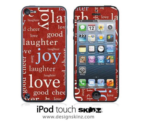 Healthy Words Wallpaper iPod Touch 4th or 5th Generation Skin