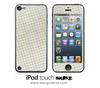 Graph Paper iPod Touch 4th or 5th Generation Skin
