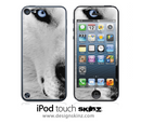White Wolf iPod Touch 4th or 5th Generation Skin