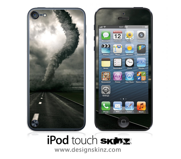 Tornado iPod Touch 4th or 5th Generation Skin