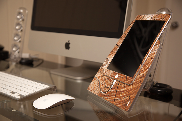 Cracked Wood iStand for the iPad Mini