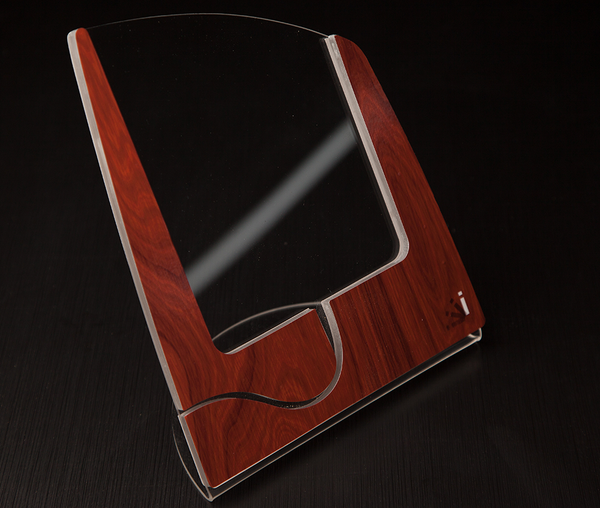 Mahogany Wood iStand for the iPad Mini