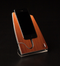 Straight Wood iStand for the iPhone 4/4s or 5