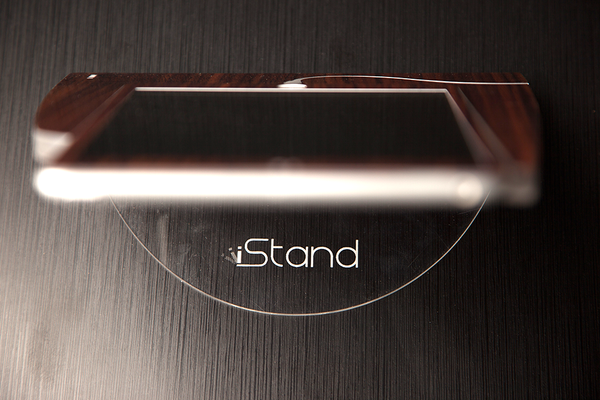 Walnut Wood iStand for the iPad Mini