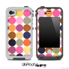 Polka V5 Fun Color Pattern Skin for the iPhone 5 or 4/4s LifeProof Case