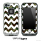 Traditional Camo with White Chevron Pattern Skin for the iPhone 5 or 4/4s LifeProof Case