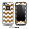 Bamboo Wood and White Chevron Pattern Skin for the iPhone 5 or 4/4s LifeProof Case