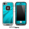 Turquoise Blue Wave Skin for the iPhone 5 or 4/4s LifeProof Case