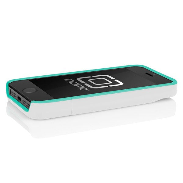 The Optical White   Navajo Turquoise Incipio STASHBACK™ Dockable Credit  Card Case for iPhone 5 a6d547262