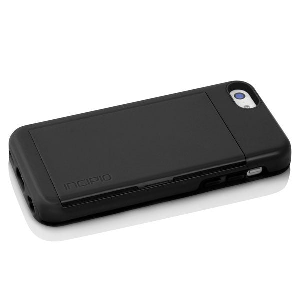 online retailer 5ad58 813a7 The Black STOWAWAY™ Credit Card Case with Integrated Stand for iPhone 5c