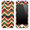 Abstract Colorful Chevron Pattern Skin for the iPhone 3, 4/4s or 5