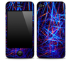 Neon Strobe Light iPhone Skin