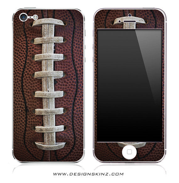 Football Laces iPhone Skin