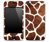 Real Giraffe Pattern Owl iPhone Skin