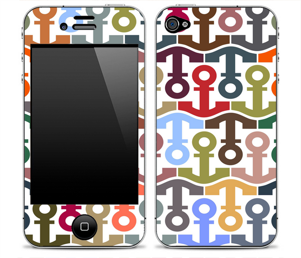 Anchor Collage iPhone Skin