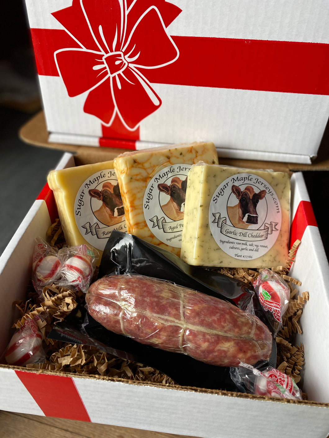 1 Meat / 3 Cheeses Gift Box
