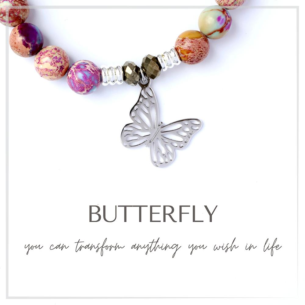 Butterfly Charm Bracelet Collection