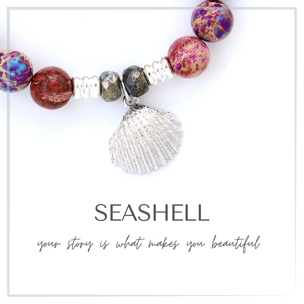 Seashell Charm Bracelet Collection