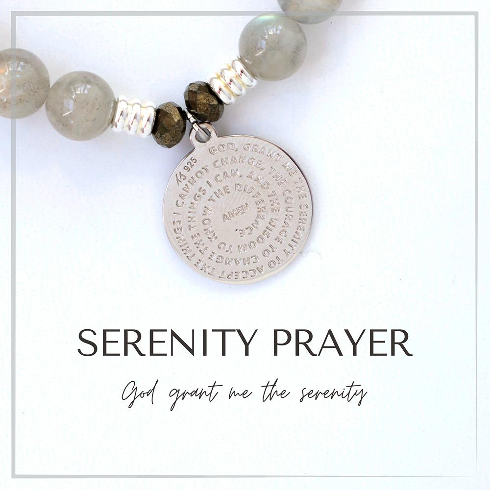 Serenity Prayer Charm Bracelet Collection