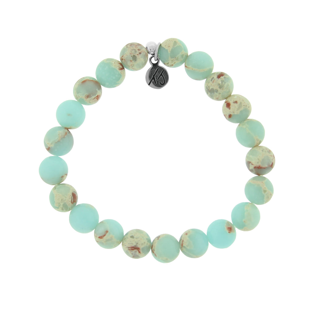 Defining Bracelet- Adventure Bracelet with Desert Jasper Gemstones