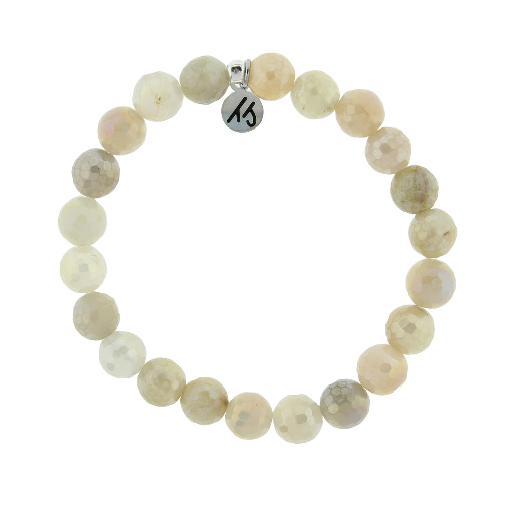 Defining Bracelet- Healing Bracelet with Moonstone Gemstones