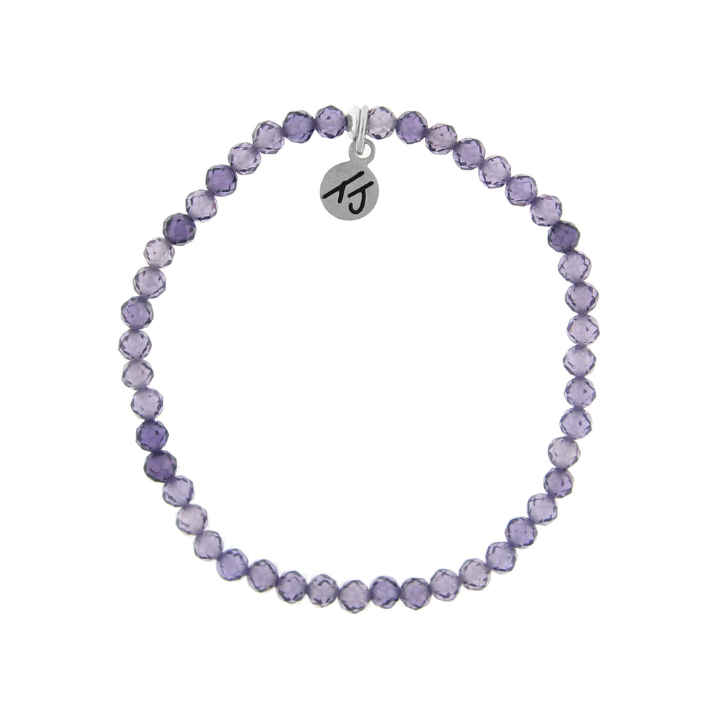 Little Blessings- Amethyst 4mm Crystal Bracelet