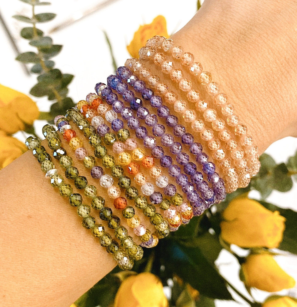 Little Blessings- Multi-Color 4mm Crystal Bracelet
