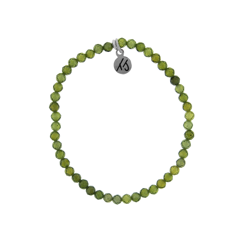 Little Blessings- Olive 4mm Crystal Bracelet