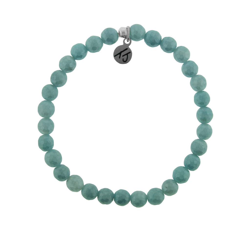 Stacker Collection- Blue Quartzite 6mm Stone Bracelet