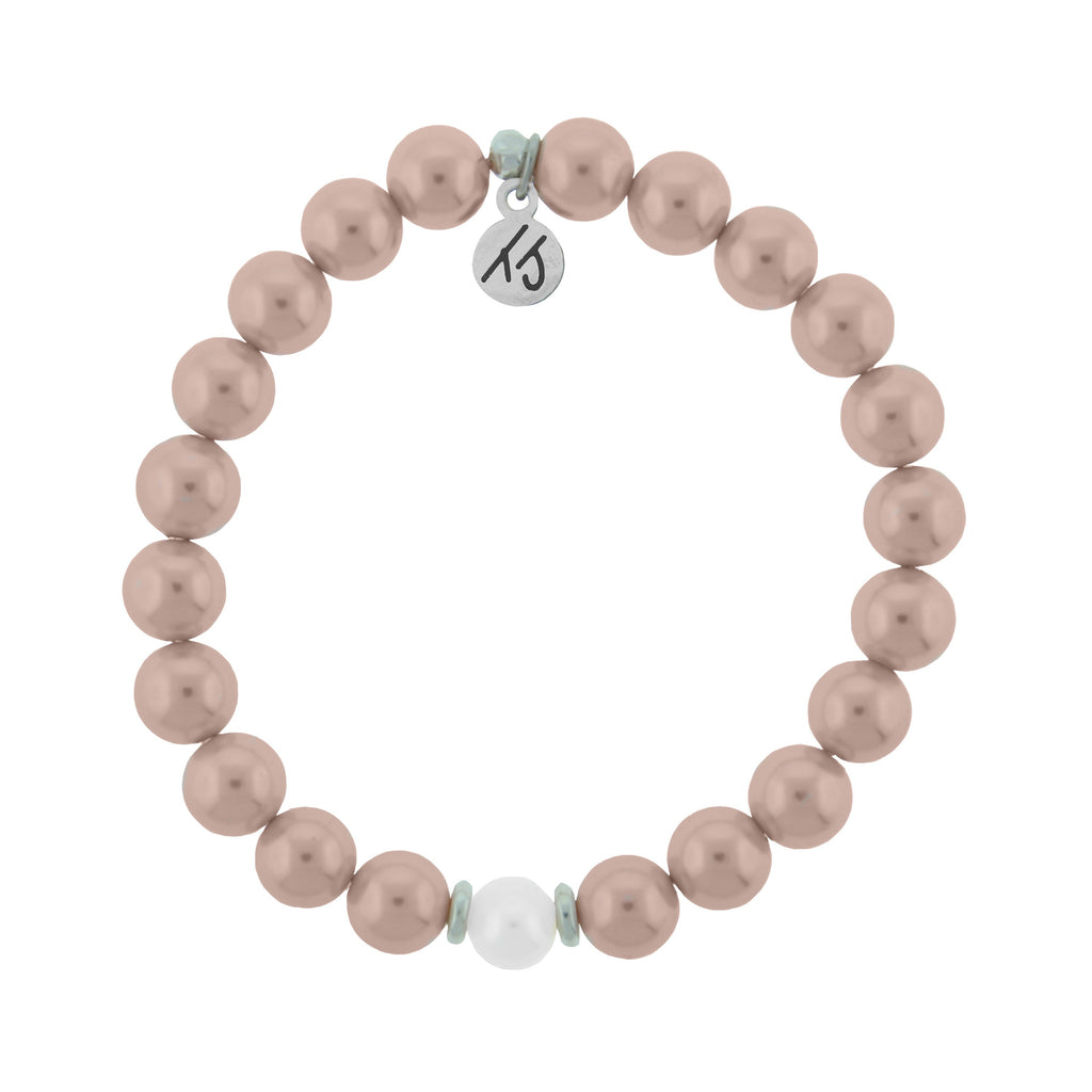 Stacker Collection-Pink Pearl Bracelet